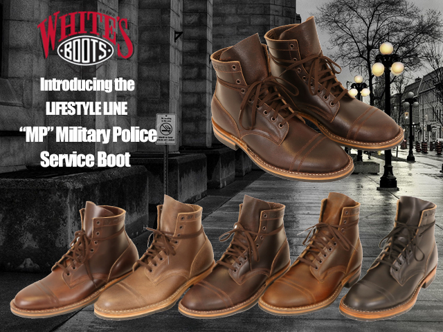 WHITE'S BOOTS MP Military Police Service Boot ホワイツ サービスブーツ