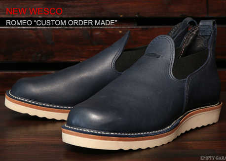 WESCO ROMEO CUSTOM ORDER
