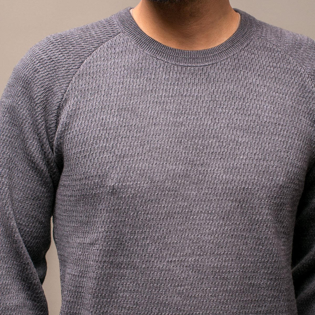 STEVENSON OVERALL Co. Wool Thermal Long Sleeve - WL Merino Wool ウールサーマルシャツ