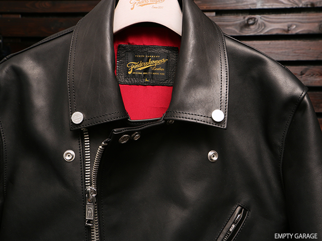 Finderskeepers FK-W-RIDERS JACKET UK II BLACK 40712503 ライダースジャケット