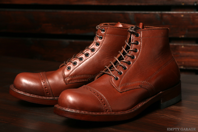 [ホワイツ]  WHITE'S BOOTS SEMI DRESS Straight Tip Custom Brown Calf