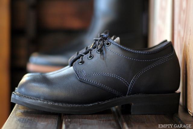 [ウエスコ] WESCO BOOTS J.H. Classics Navy Leather Vibram #430
