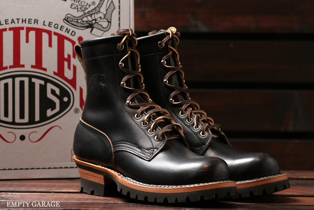 [ホワイツ] WHITE'S BOOTS SMOKE JUMPER custom 7丈 ChromExcel BLK