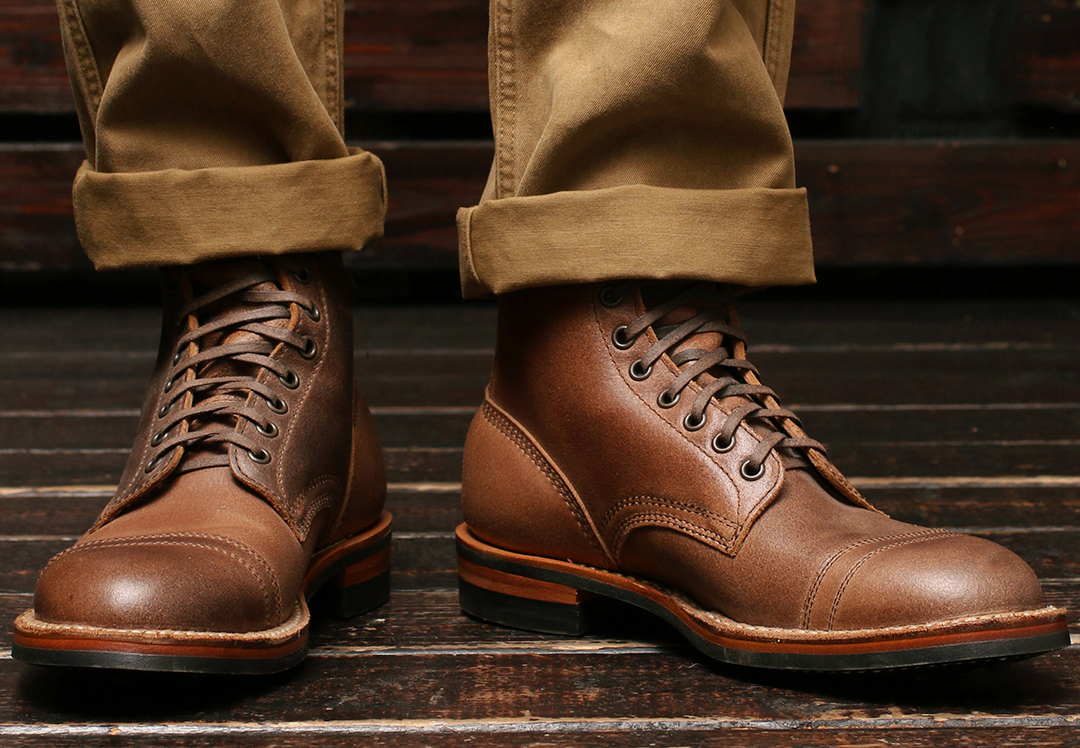 [ホワイツ] WHITE'S BOOTS MP360 Military Police Service Boot Natural Waxed Flesh