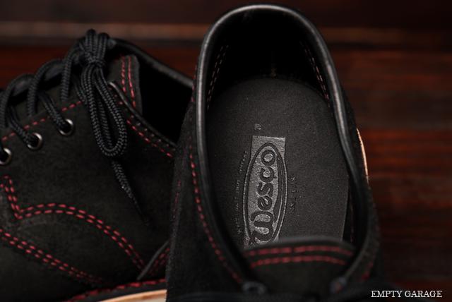 [ウエスコ] WESCO BOOTS J.H. Classics Black Rough Out Cap Toe