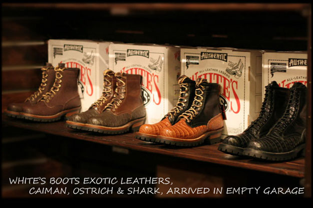 WHITE'S BOOTS SMOKE JUMPER 7丈 カイマンクロコダイル