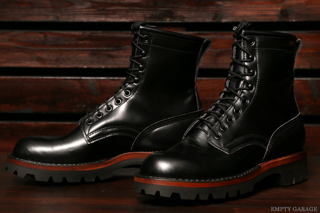 [ホワイツ] WHITE'S BOOTS NORTHWEST 7 Portland vibram Custom Black Calf