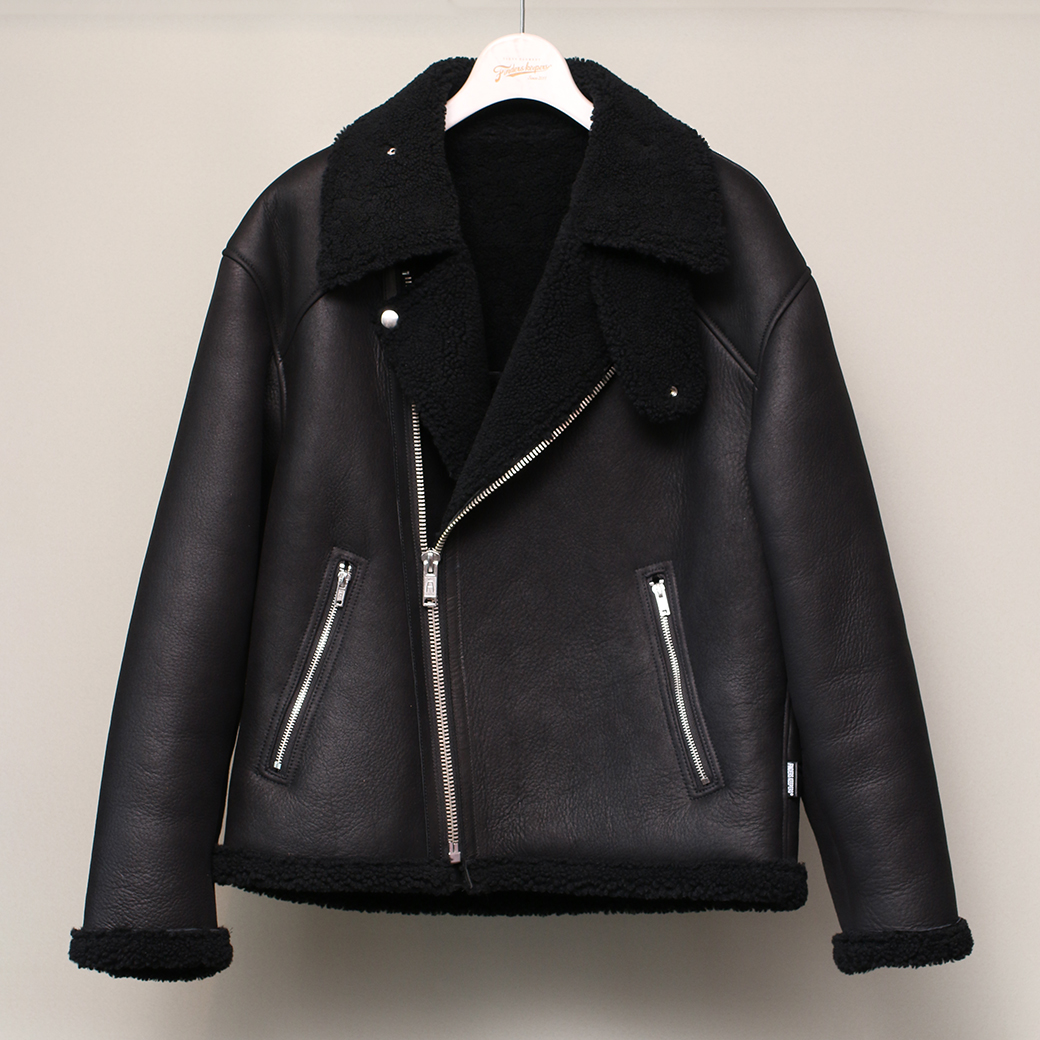 FindersKeepers 2019AW FK- MOUTON RIDERS JACKET ムートンライダースジャケット