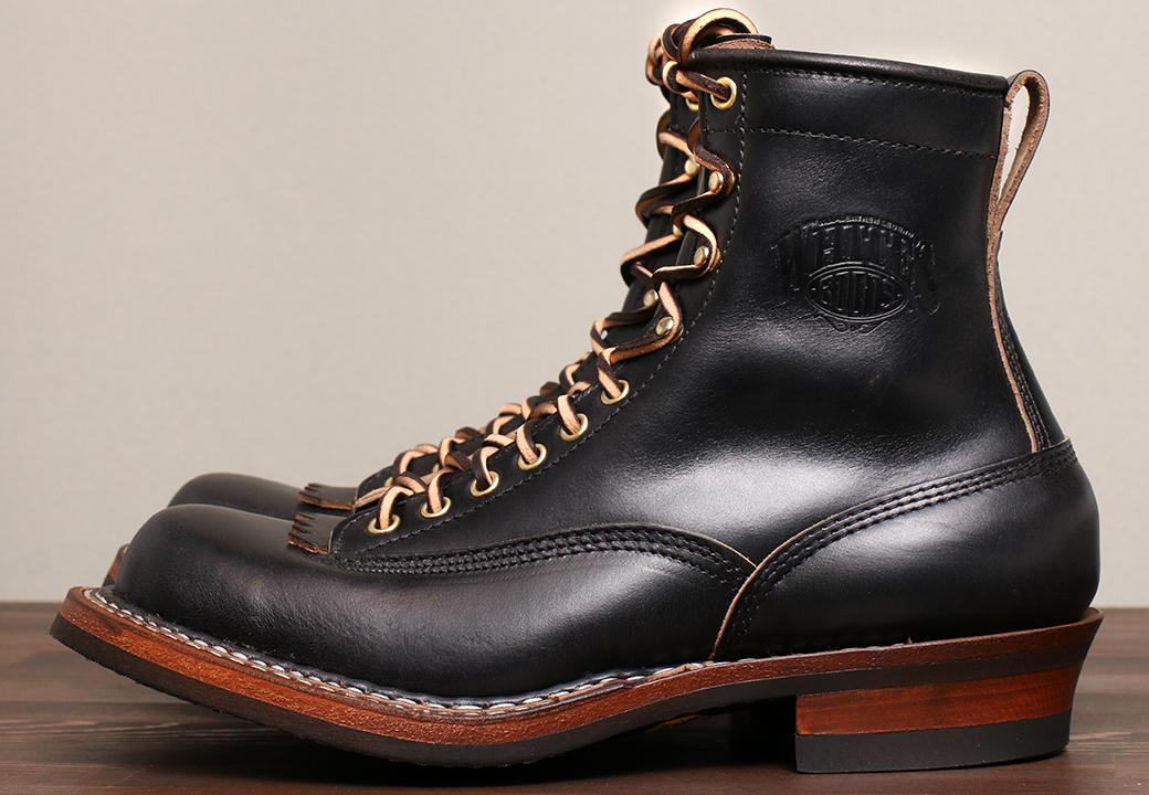 [ホワイツ] WHITE'S BOOTS レーストウ Farmer Rancher 7'' ブラッククロムエキセル C461 Last