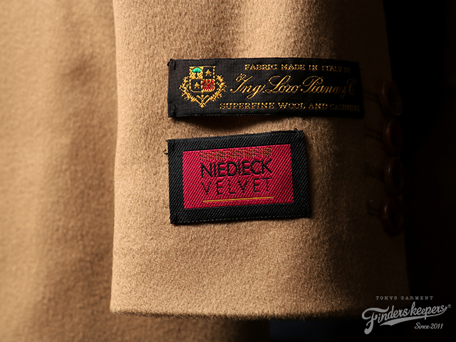 FindersKeepers FK-CHESTER FIELD COAT by LORO PIANA & NIEDIECK