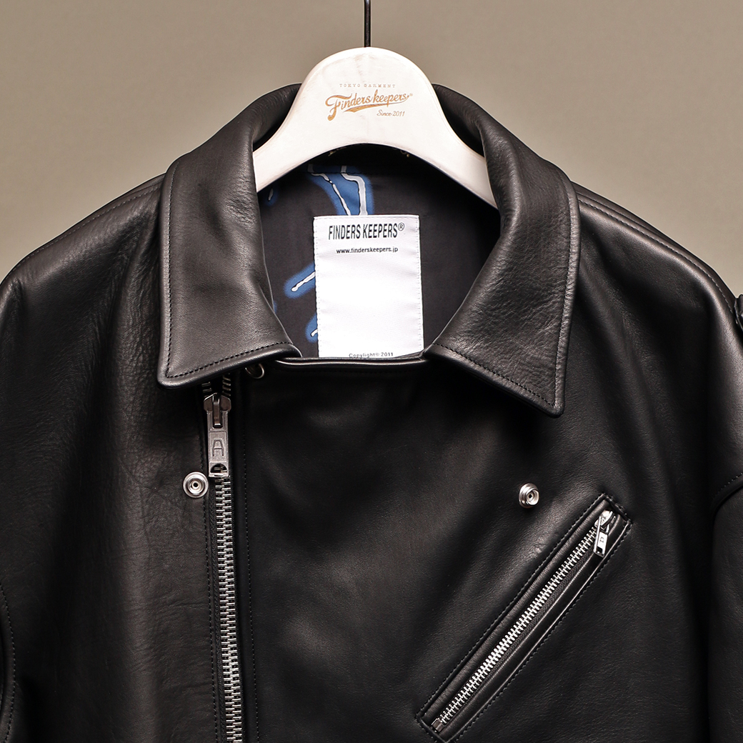 EMPTY GARAGE 限定販売 FindersKeepers FK-RIDERS NYC JACKET 4th Horsehide