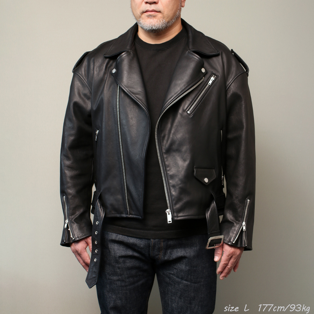 FindersKeepers FK-RIDERS NYC JACKET 4th Black Horsehide