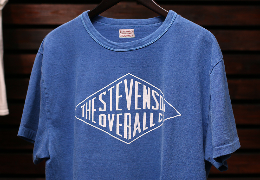 STEVENSON OVERALL Co. Graphic T-shirt Daimond - GTDM White