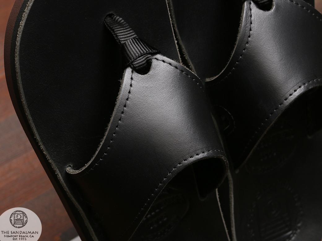 THE SANDALMAN サンダルマン 501 ビーチサンダル ブルハイド レッド ブラック