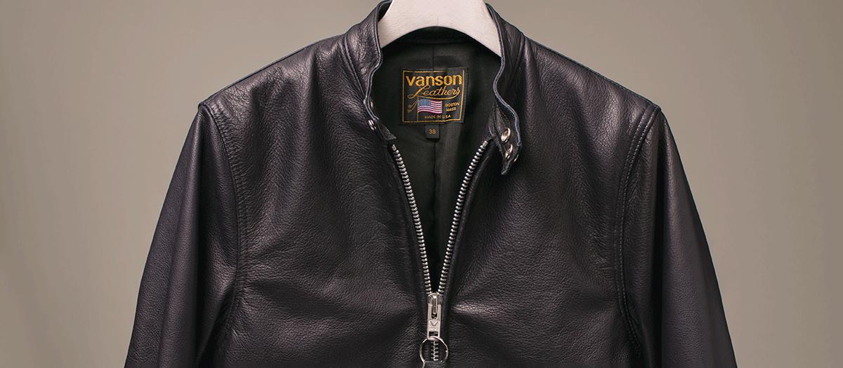 Vanson Special Custom Riders Jacket 「グレインレザー」