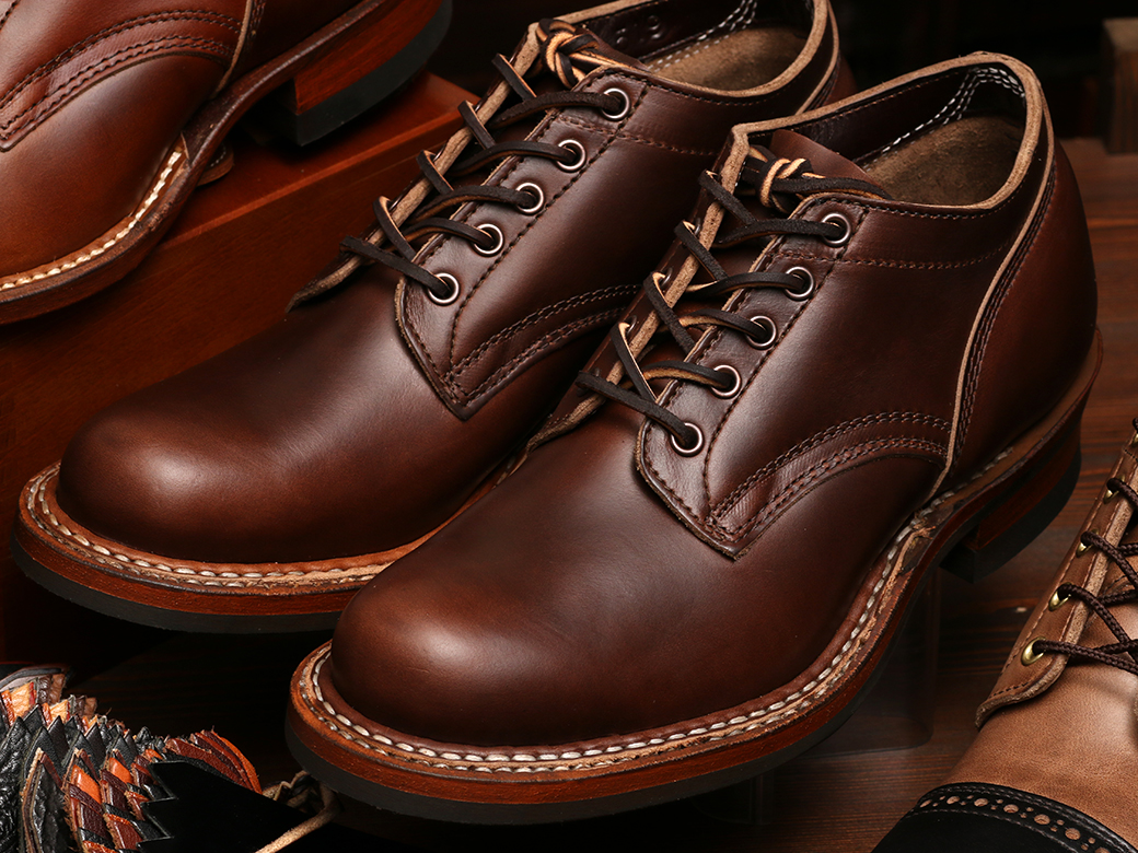 [ホワイツブーツ] WHITE'S BOOTS OXFORD C461 LAST Brown Chromexcel British Tan オックスフォード