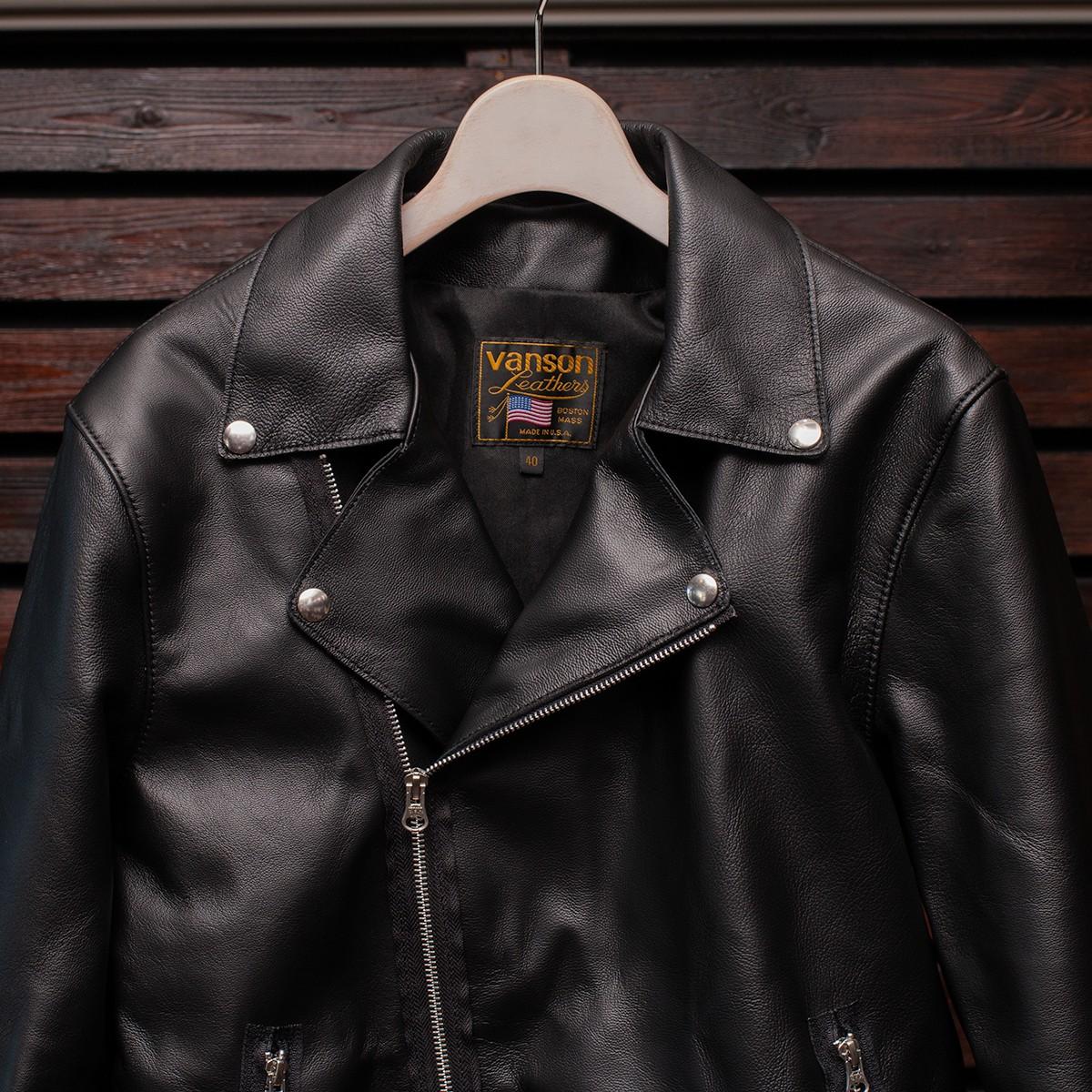Vanson Special Custom Double Riders Jacket Type 2 ゴートスキン ライダースジャケット (2021FW カスタムオーダー)