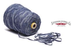 Stevenson Overall Co. Denim Yarn-Hand Woven Shawl Cardigan - DS