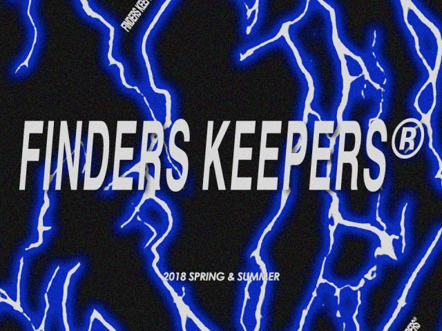 Finderskeepers Tokyo 2018SS FK2018 コレクション