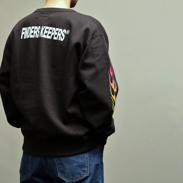 Finderskeepers FK-FLAMES CREWNECK TRACK PANTS 2019SS