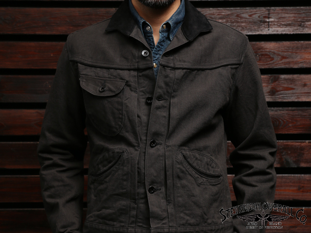 STEVENSON OVERALL CO. Deputy - DP2 COWBOY JACKET Charcoal