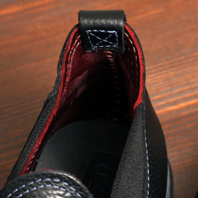 [ウエスコブーツロメオ] WESCO ROMEO Black Tie Pebble