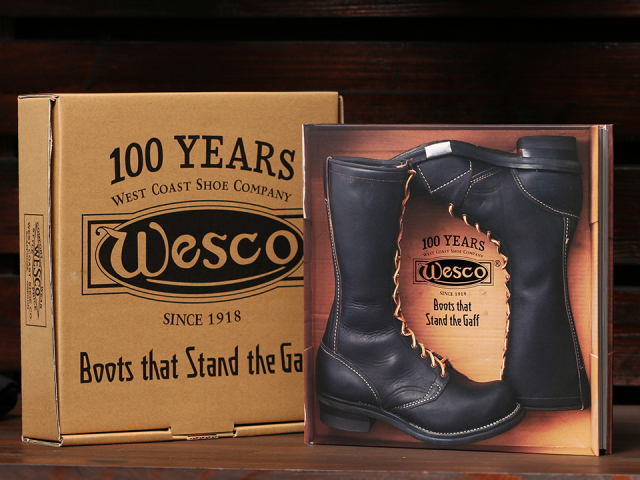 "[ウエスコ100周年記念] WESCO 100th Anniversary Book ""Boots that Stand the Gaff"" Japanese/English"