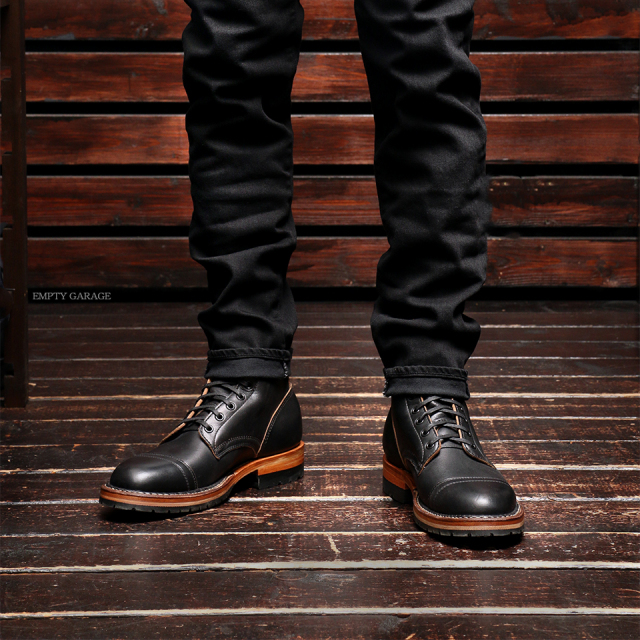 [ホワイツ] WHITE'S BOOTS MP360 Military Police Service Boot Black Chromexcel