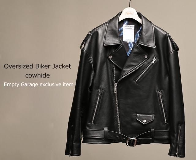 FindersKeepers FK-RIDERS NYC JACKET 4th Black Cowhide