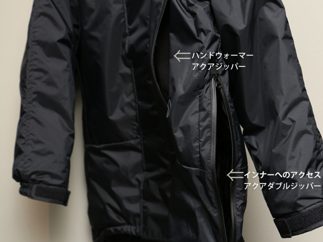 NANGA x FindersKeepers FK-PCU MONSTER PARKA White Duck Down モンスターパーカー ナンガ ダウンジャケット