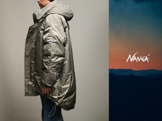 NANGA x FindersKeepers FK-PCU MONSTER PARKA White Duck Down モンスターパーカー ナンガ ダウンジャケット