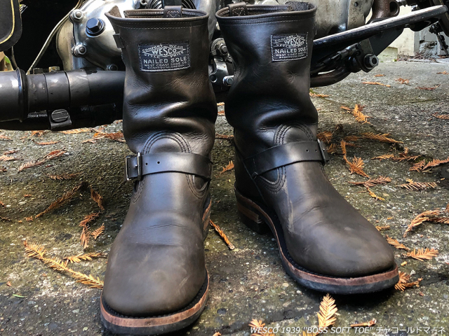 WESCO 100th Anniversary CHARC1939 ウエスコブーツ 100周年ブーツ Black Bear Brand